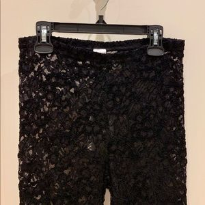 ✨✨NORDSTROM LACE LEGGINGS SIZE SMALL✨✨